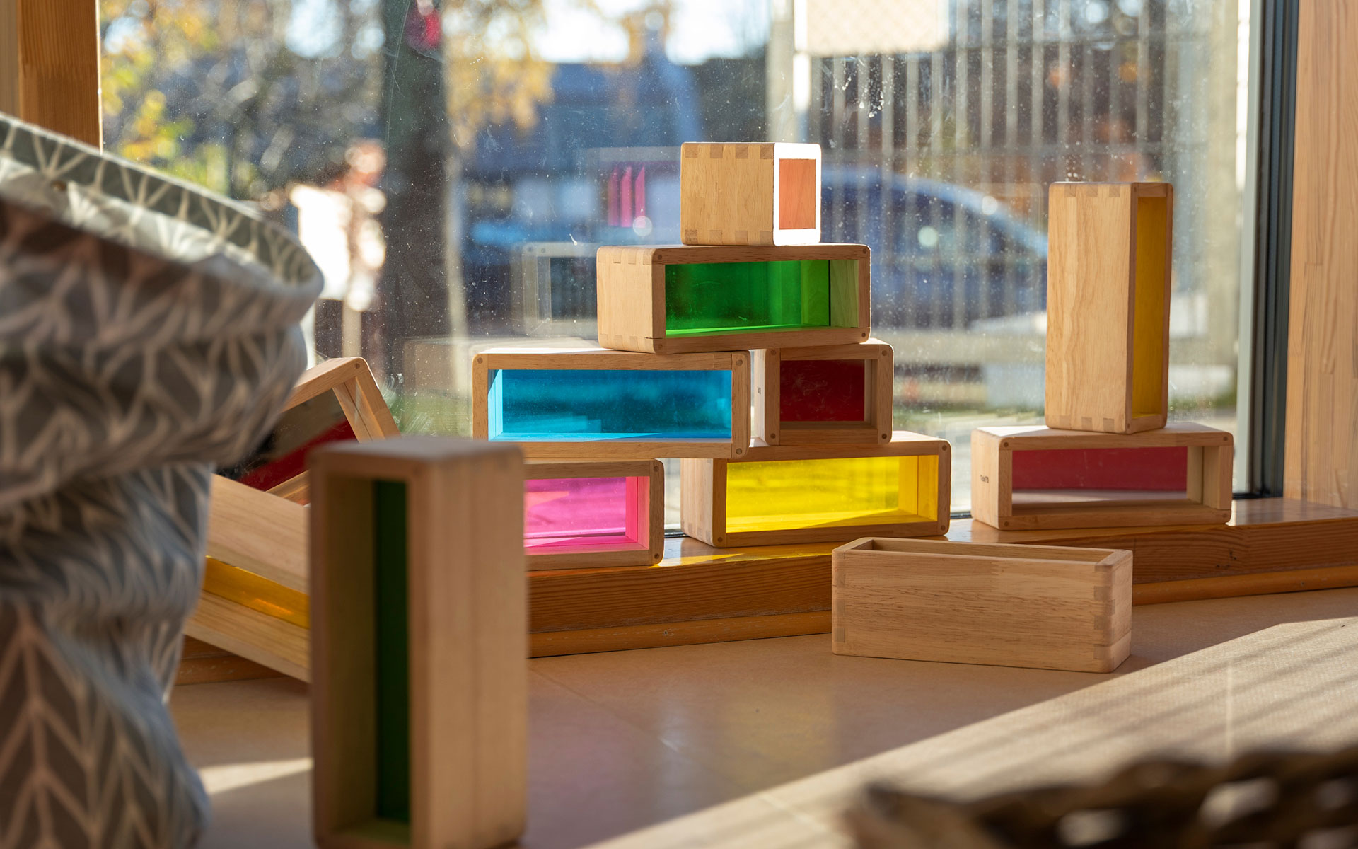 Kinderkrippe Farbenklecks